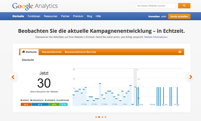 SEO Tools - Google Analytics